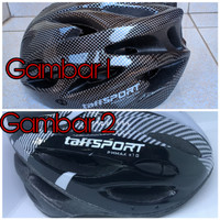 TaffsportHelm Sepeda Bicycle Rpad Bike Helmet EPS Foam Pvc Shell