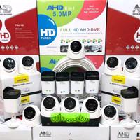 PAKET CCTV 16 CHANNEL 16 KAMERA TURBO HD 5Mp 1080p komplit