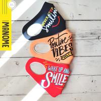 Masker Scuba Premium MANOME harga 3 Pcs - SMILE