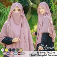 Hijab Jilbab Kerudung Instan French Khimar Cadar Terbaru Raisa Syari