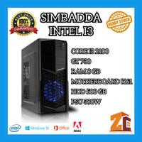 Pc Gaming/Editing Budget Intel Core I3 2100|GT730|8GB|500GB
