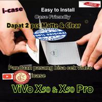 Anti Gores / Screen Protector Vivo X50 / X50 Pro membrane bukan glass
