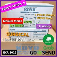 Masker SENSI KOYO by SENSI Mask EarLoop 3 Ply 100% Original dan BARU