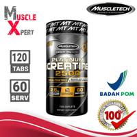 MT Platinum Creatine 2500 120 tablet Muscletech Creatin 120tabs BPOM