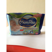 MAMYPOKO BABY CARE WIPES 48S ANTISEPTIK GREEN TEA PARFUM