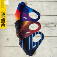 Masker Scuba Premium MANOME harga 3 Pcs - NEON