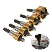 BINOAX Mata Bor Carbide Tip Wood Metal Hole Cut 5 PCS Kayu Besi
