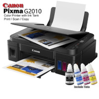 Canon PIXMA Printer G2010 Inkjet Inktank Print Scan Copy + FREE TINTA
