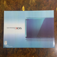 Nintendo 3DS like new + 32GB + 50 games lebih + charger