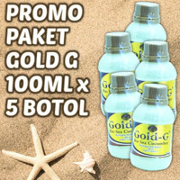 JELLY GAMAT JELI GOLD G Paket 100mlx5 =500ml Jely Gamat Original 100%
