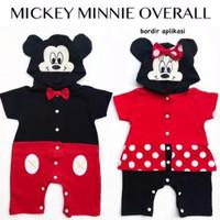 Mickey Minnie Overall / Baju Bayi Lucu Murah / Romper Bayi