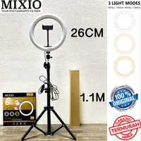 Ring Light 26cm + Light Stand Tripod 1.1M Selfie Vlogger Livestreamer