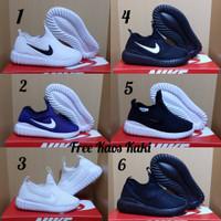 Nike Free Running size 25 - 35 sepatu anak olahraga sports navy lari