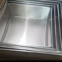 Loyang persegi/Loyang kue lapis/Loyang bolu(1 set isi 5pcs) tinggi 7cm