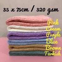Kain Lap Microfiber Edgeless Towel 35 x 75 cm, 320 GSM (DUA SISI)