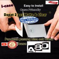 Anti Gores / Screen Protector Samsung A80 - dapat 2 clear n antiglare