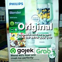 Philips Blender HR2222 Problend ice crush Beling Kaca Glass Ori, Baru