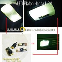 Paket isi 4 Lampu LED Plafon Kabin Honda HRV T10 Super Bright Mobil