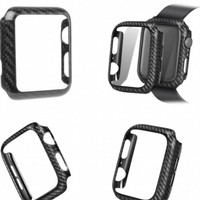 bumper case Apple watch case carbon fiber texture 38mm 40mm 42mm 44mm