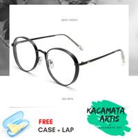 Frame kacamata Sergio pria wanita - free lensa minus / silinder