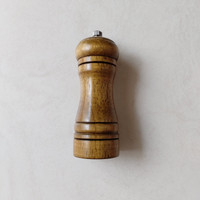 Penggiling Lada Garam / Pepper Salt Konco model Kayu 5cm x 14,5 Cm