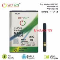 Baterai Double Power MODEM MIFI SMARTFREN ANDROMAX M5 / M6 BATRE