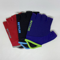 Sarung Tangan Fitness Gym Gowes Sepeda Kettler High Quality w/ Padding