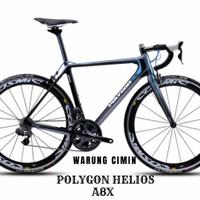 Sepeda Balap Polygon HELIOS A8X Frame Size 50