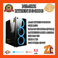 Promo Pc Gaming/Editing Amd Ryzen 5 3400G  GTX 1650  16GB  120GB  1TB - 8 gb
