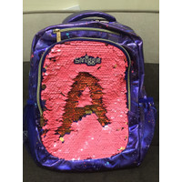 Smiggle Backpack Shimmy Tas Ransel Anak SD Sequin Original Asli