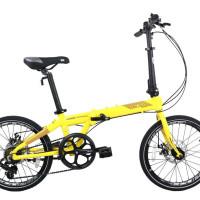 "Sepeda Lipat Dahon ION Madison 20"".Bkn sepeda lipat elemen troy pikes"