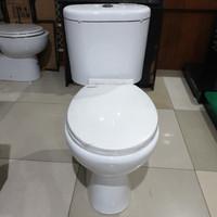 Kloset duduk RENOVO set komplit 50cm closet kamar mandi wc toilet