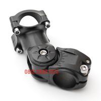 Stem Sepeda Adjustable Peninggi Stang Oversize Alloy