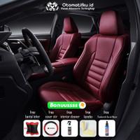 Sarung jok mobil Mitsubishi Outlander Otomotifku Bahan MBtech Carrera
