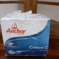 Cream Cheese Anchor 1 KG Import New Zealand HALAL
