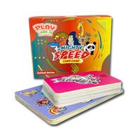 MIGHT SPEED CARD GAME ANIMAL SERIES