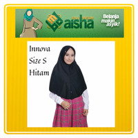 Great Innova Size S Hitam Rabbani Hijab Instan Jilbab Kerudung Sekolah