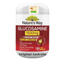 Nature's Way Glucosamine 1500mg 200 Tablets nyeri sendi Natures way