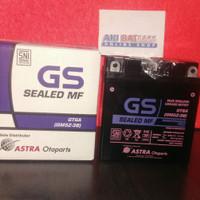 Aki motor Gs astra Mf Gm5z-3b(gt6a) - ORIGINAL aki kering 12v 5ah