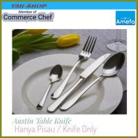 PISAU Austin Table Knife CUTLERY FLATWARE AMEFA Netherland Eropa