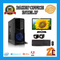 Paket Pc Office Intel Core I7 2600|8GB|120GB|1TB