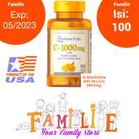 Puritan Pride Vitamin C 1000 mg with bioflavonoids & Rose Hips