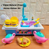 Mainan Anak Wastafel Cuci Piring Edukasi