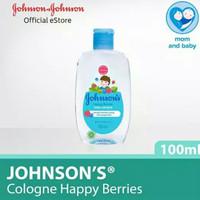 Johnson Johnsons Baby Cologne Powder Mist Happy Berris Heaven 100ml