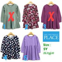 Dress anak perempuan 5tahun the children place branded sisa eksport