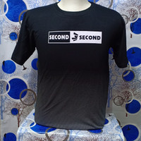 kaos pria 3second,bahan sepandek,UK.XL,