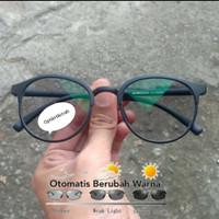 Kacamata minus photocromik frame oval