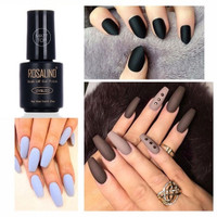 ROSALIND 7ml matt matte top coat soak off gel polish kutek gel mate