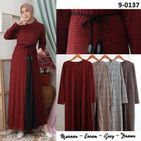 baju gamis wanita terbaru/ baju gamis wanita murah/dress muslim murah