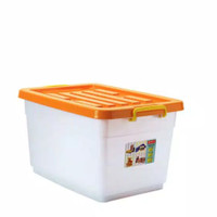LION STAR : BOX CONTAINER WAGON 50 (50 LITER) KHUSUS GOJEK GRAB